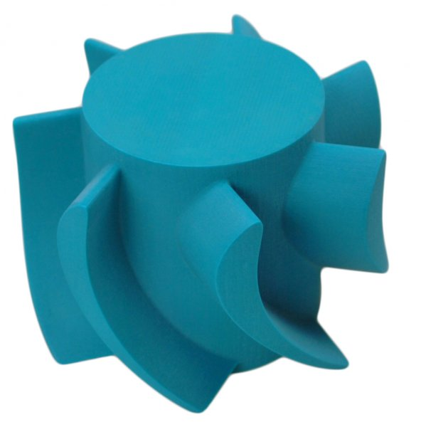 solidscape_3d_wax_master_model_impeller